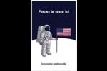 Astronaute Reliures - gabarit prédéfini. <br/>Utilisez notre logiciel Avery Design & Print Online pour personnaliser facilement la conception.
