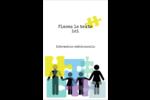 Counseling en éducation Reliures - gabarit prédéfini. <br/>Utilisez notre logiciel Avery Design & Print Online pour personnaliser facilement la conception.