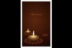 Lumières Divali Reliures - gabarit prédéfini. <br/>Utilisez notre logiciel Avery Design & Print Online pour personnaliser facilement la conception.