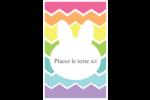 Lapin Bonbon Reliures - gabarit prédéfini. <br/>Utilisez notre logiciel Avery Design & Print Online pour personnaliser facilement la conception.