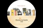 Menuiserie  Étiquettes Voyantes - gabarit prédéfini. <br/>Utilisez notre logiciel Avery Design & Print Online pour personnaliser facilement la conception.
