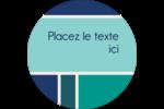 Bloc de couleur Étiquettes Voyantes - gabarit prédéfini. <br/>Utilisez notre logiciel Avery Design & Print Online pour personnaliser facilement la conception.