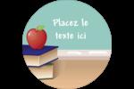 Enseignement scolaire Étiquettes Voyantes - gabarit prédéfini. <br/>Utilisez notre logiciel Avery Design & Print Online pour personnaliser facilement la conception.