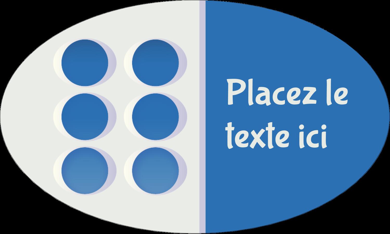 """1½"""" x 1½"""" Étiquettes carrées - 4e étage"""
