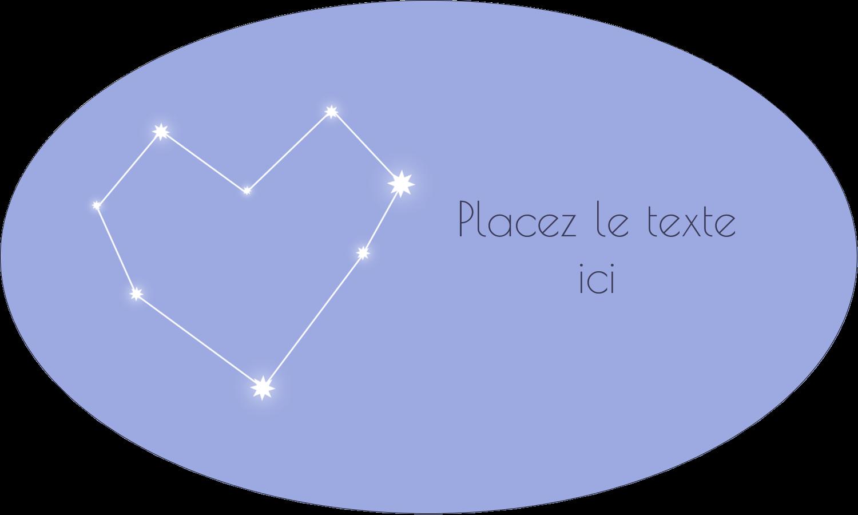 """1½"""" x 1½"""" Étiquettes carrées - Étoiles d'anniversaire"""