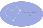 Étoiles d'anniversaire Étiquettes carrées - gabarit prédéfini. <br/>Utilisez notre logiciel Avery Design & Print Online pour personnaliser facilement la conception.