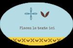 Bain bleu Étiquettes carrées - gabarit prédéfini. <br/>Utilisez notre logiciel Avery Design & Print Online pour personnaliser facilement la conception.