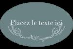 Cachet français Étiquettes carrées - gabarit prédéfini. <br/>Utilisez notre logiciel Avery Design & Print Online pour personnaliser facilement la conception.