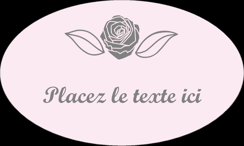 """1½"""" x 1½"""" Étiquettes carrées - Bouquet de fleurs"""
