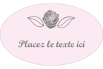 Bouquet de fleurs Étiquettes carrées - gabarit prédéfini. <br/>Utilisez notre logiciel Avery Design & Print Online pour personnaliser facilement la conception.