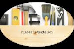 Menuiserie  Étiquettes carrées - gabarit prédéfini. <br/>Utilisez notre logiciel Avery Design & Print Online pour personnaliser facilement la conception.