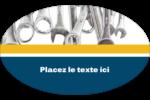 Outils de l'entrepreneur Étiquettes carrées - gabarit prédéfini. <br/>Utilisez notre logiciel Avery Design & Print Online pour personnaliser facilement la conception.