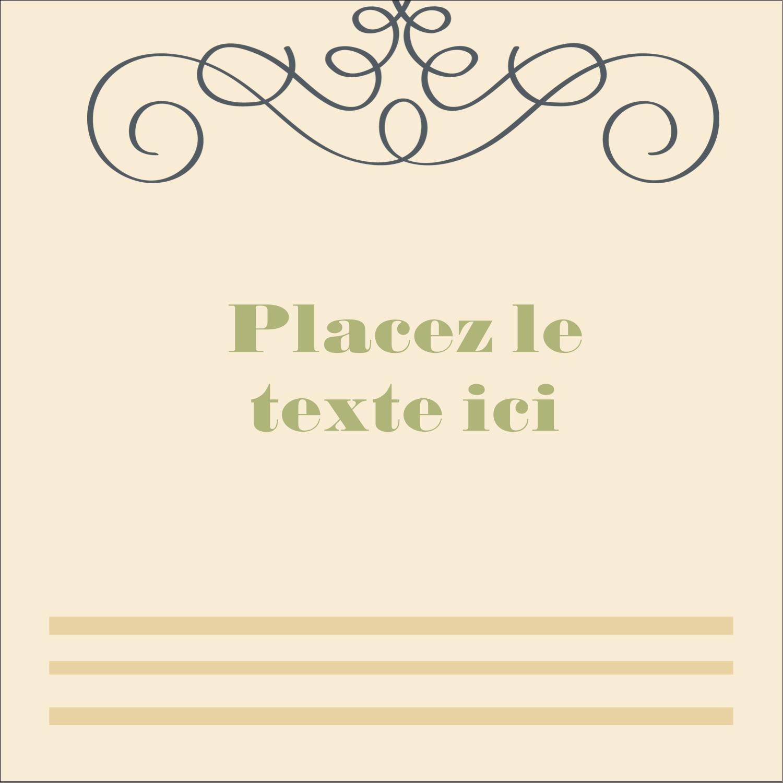 """1½"""" x 1½"""" Étiquettes carrées - Souhaits d'anniversaire"""