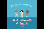 Éducation et préscolaire Étiquettes carrées - gabarit prédéfini. <br/>Utilisez notre logiciel Avery Design & Print Online pour personnaliser facilement la conception.