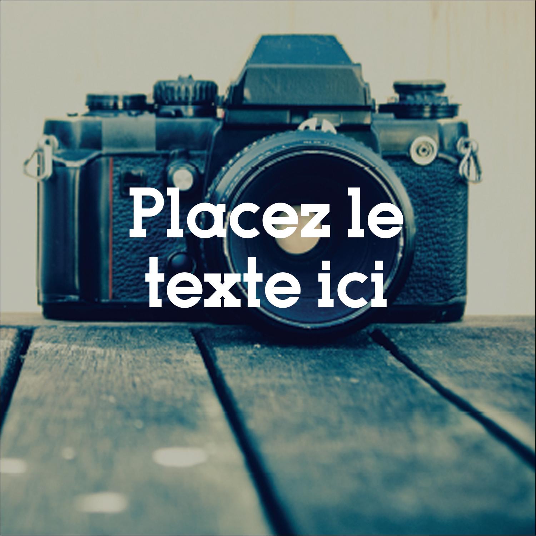 """1½"""" x 1½"""" Étiquettes carrées - Appareil photo"""