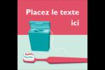 Soie dentaire Étiquettes carrées - gabarit prédéfini. <br/>Utilisez notre logiciel Avery Design & Print Online pour personnaliser facilement la conception.