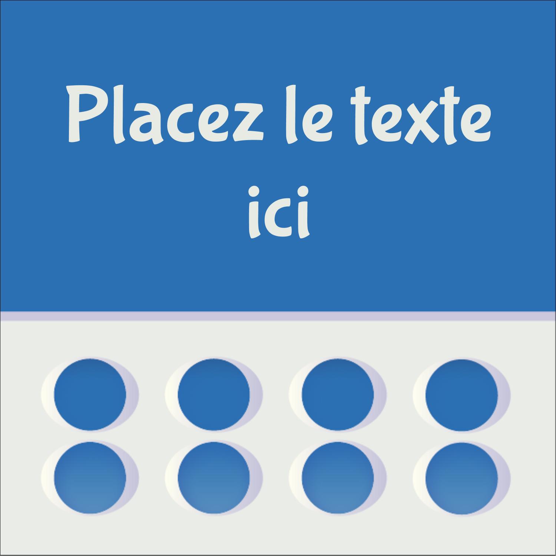 """2"""" Diameter Étiquettes rondes - 4e étage"""