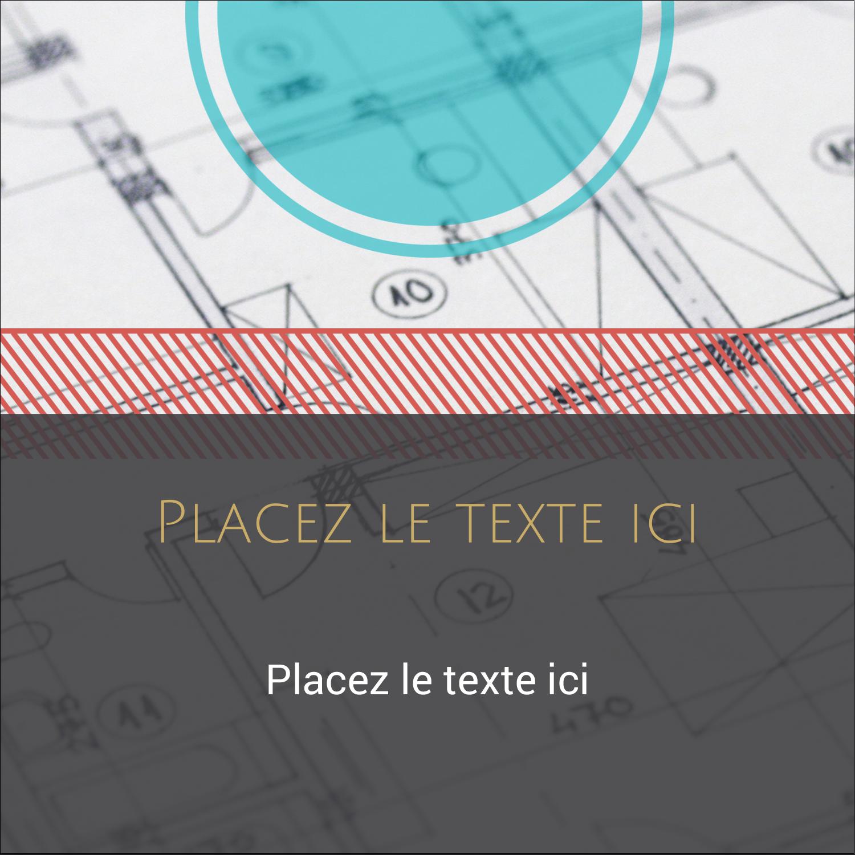 """2"""" Diameter Étiquettes rondes - Architecture"""