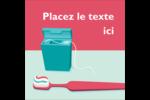 Soie dentaire Étiquettes rondes - gabarit prédéfini. <br/>Utilisez notre logiciel Avery Design & Print Online pour personnaliser facilement la conception.