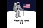 Astronaute Étiquettes enveloppantes - gabarit prédéfini. <br/>Utilisez notre logiciel Avery Design & Print Online pour personnaliser facilement la conception.