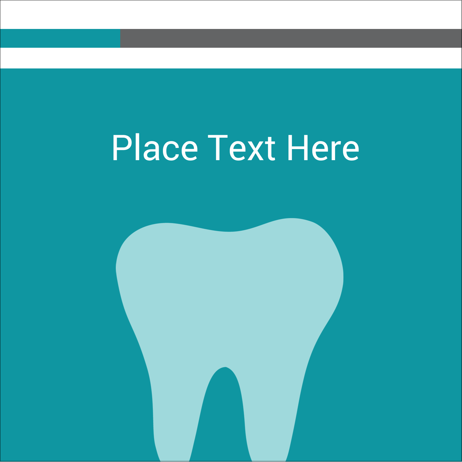 """2"""" x 2"""" Square Label - Dentist Tooth"""