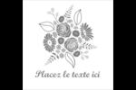 Bouquet de fleurs Étiquettes enveloppantes - gabarit prédéfini. <br/>Utilisez notre logiciel Avery Design & Print Online pour personnaliser facilement la conception.