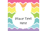 Get BRIGHT and colourful this Easter with a bright bunny and neon bands of colour !