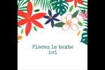 Plantes tropicales Étiquettes enveloppantes - gabarit prédéfini. <br/>Utilisez notre logiciel Avery Design & Print Online pour personnaliser facilement la conception.