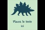 Dinosaure Étiquettes enveloppantes - gabarit prédéfini. <br/>Utilisez notre logiciel Avery Design & Print Online pour personnaliser facilement la conception.