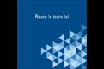 Angles bleus  Étiquettes enveloppantes - gabarit prédéfini. <br/>Utilisez notre logiciel Avery Design & Print Online pour personnaliser facilement la conception.