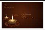Lumières Divali Étiquettes d'adresse - gabarit prédéfini. <br/>Utilisez notre logiciel Avery Design & Print Online pour personnaliser facilement la conception.