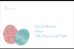 Tartan de Pâques Étiquettes d'adresse - gabarit prédéfini. <br/>Utilisez notre logiciel Avery Design & Print Online pour personnaliser facilement la conception.