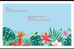 Plantes tropicales Étiquettes d'adresse - gabarit prédéfini. <br/>Utilisez notre logiciel Avery Design & Print Online pour personnaliser facilement la conception.