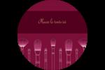 Brosses à cosmétiques Étiquettes rondes - gabarit prédéfini. <br/>Utilisez notre logiciel Avery Design & Print Online pour personnaliser facilement la conception.