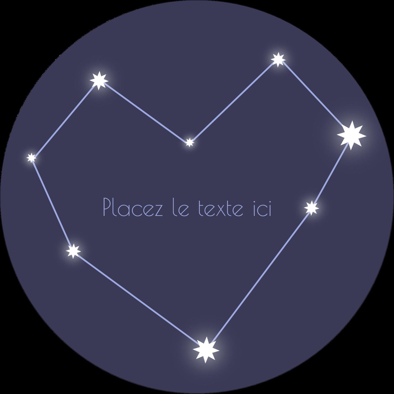 """3-7/16"""" x 15/16"""" Étiquettes de classement - Étoiles d'anniversaire"""