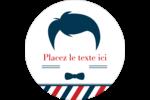 Salon de barbier Étiquettes de classement - gabarit prédéfini. <br/>Utilisez notre logiciel Avery Design & Print Online pour personnaliser facilement la conception.