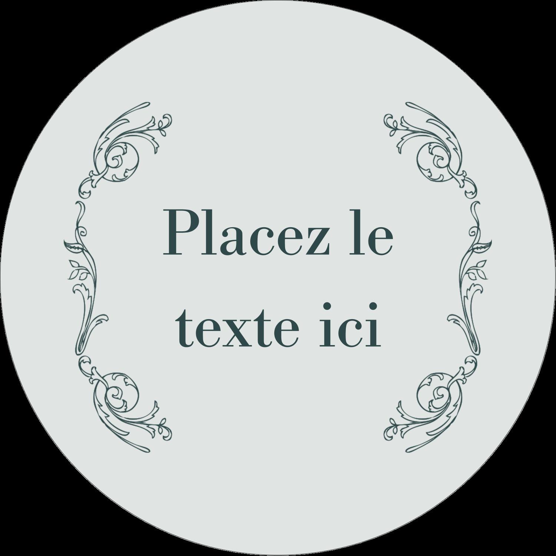 """3-7/16"""" x 15/16"""" Étiquettes de classement - Cachet français"""