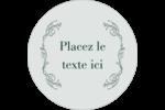 Cachet français Étiquettes de classement - gabarit prédéfini. <br/>Utilisez notre logiciel Avery Design & Print Online pour personnaliser facilement la conception.