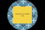 Bain bleu Étiquettes de classement - gabarit prédéfini. <br/>Utilisez notre logiciel Avery Design & Print Online pour personnaliser facilement la conception.