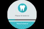 Dent Étiquettes de classement - gabarit prédéfini. <br/>Utilisez notre logiciel Avery Design & Print Online pour personnaliser facilement la conception.