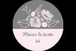 Bouquet de fleurs Étiquettes de classement - gabarit prédéfini. <br/>Utilisez notre logiciel Avery Design & Print Online pour personnaliser facilement la conception.