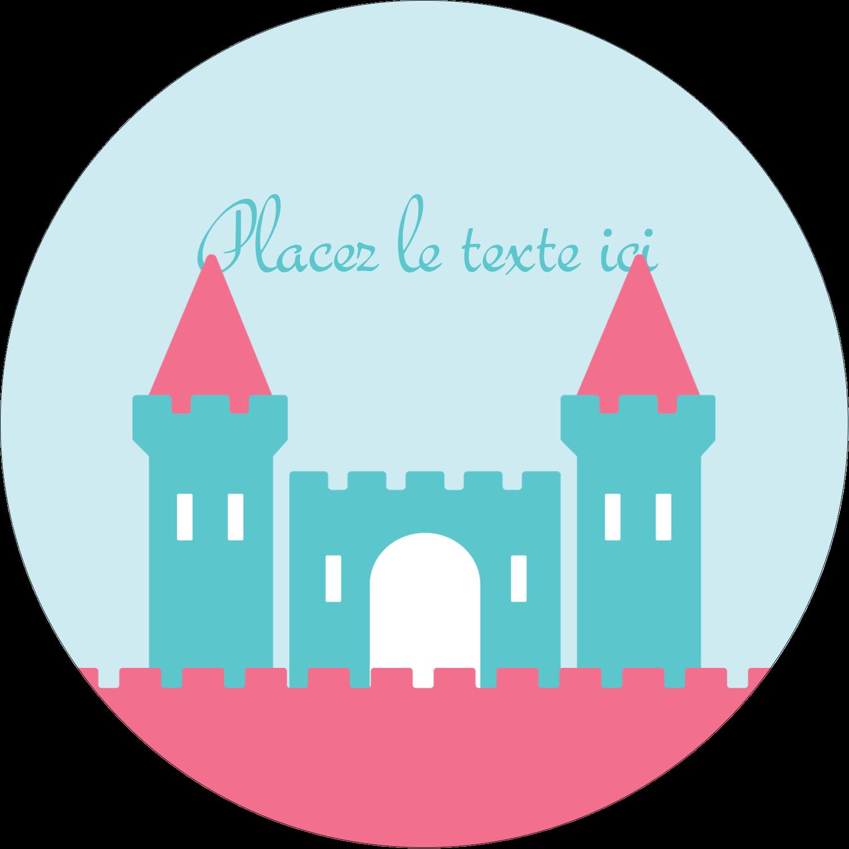 """3-7/16"""" x 15/16"""" Étiquettes de classement - Château"""
