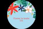 Plantes tropicales Étiquettes de classement - gabarit prédéfini. <br/>Utilisez notre logiciel Avery Design & Print Online pour personnaliser facilement la conception.