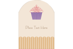 Customize personal or professional projects with delightful predesigned Cupcake templates.