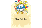 Get creative and customize your next project with predesigned Cleaning Cloud templates.