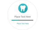 Customize your next project with predesigned Dentist Tooth templates.