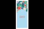 Plantes tropicales Cartes Pour Le Bureau - gabarit prédéfini. <br/>Utilisez notre logiciel Avery Design & Print Online pour personnaliser facilement la conception.