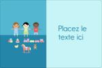 Éducation et préscolaire Étiquettes rectangulaires - gabarit prédéfini. <br/>Utilisez notre logiciel Avery Design & Print Online pour personnaliser facilement la conception.
