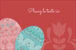Tartan de Pâques Étiquettes rectangulaires - gabarit prédéfini. <br/>Utilisez notre logiciel Avery Design & Print Online pour personnaliser facilement la conception.