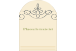 Souhaits d'anniversaire Étiquettes rectangulaires - gabarit prédéfini. <br/>Utilisez notre logiciel Avery Design & Print Online pour personnaliser facilement la conception.